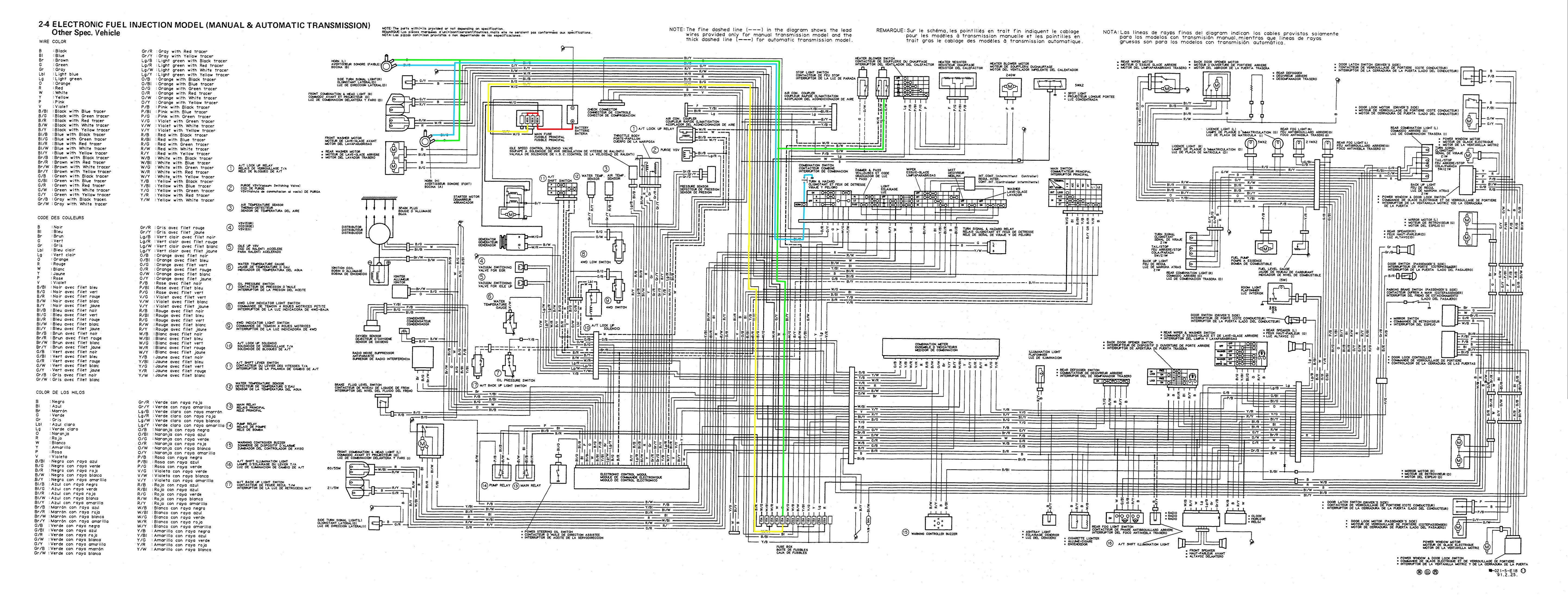 suzuki club uk • view topic horn not working intermittent vitara injection model wiring diagram se416 jpg