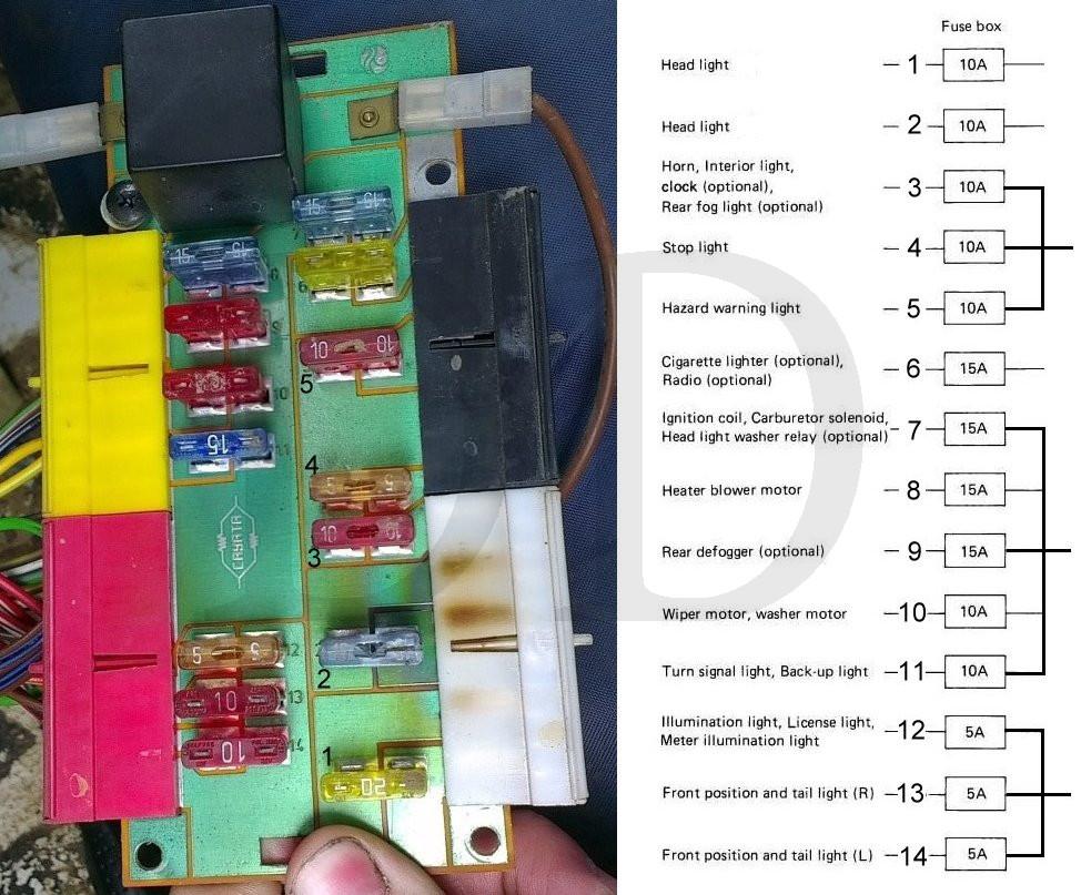 suzuki club uk • view topic santana fusebox spanish sj fuse board jpg