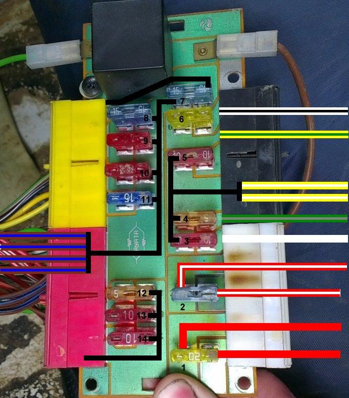 suzuki club uk • view topic santana fusebox imag0105 jpg