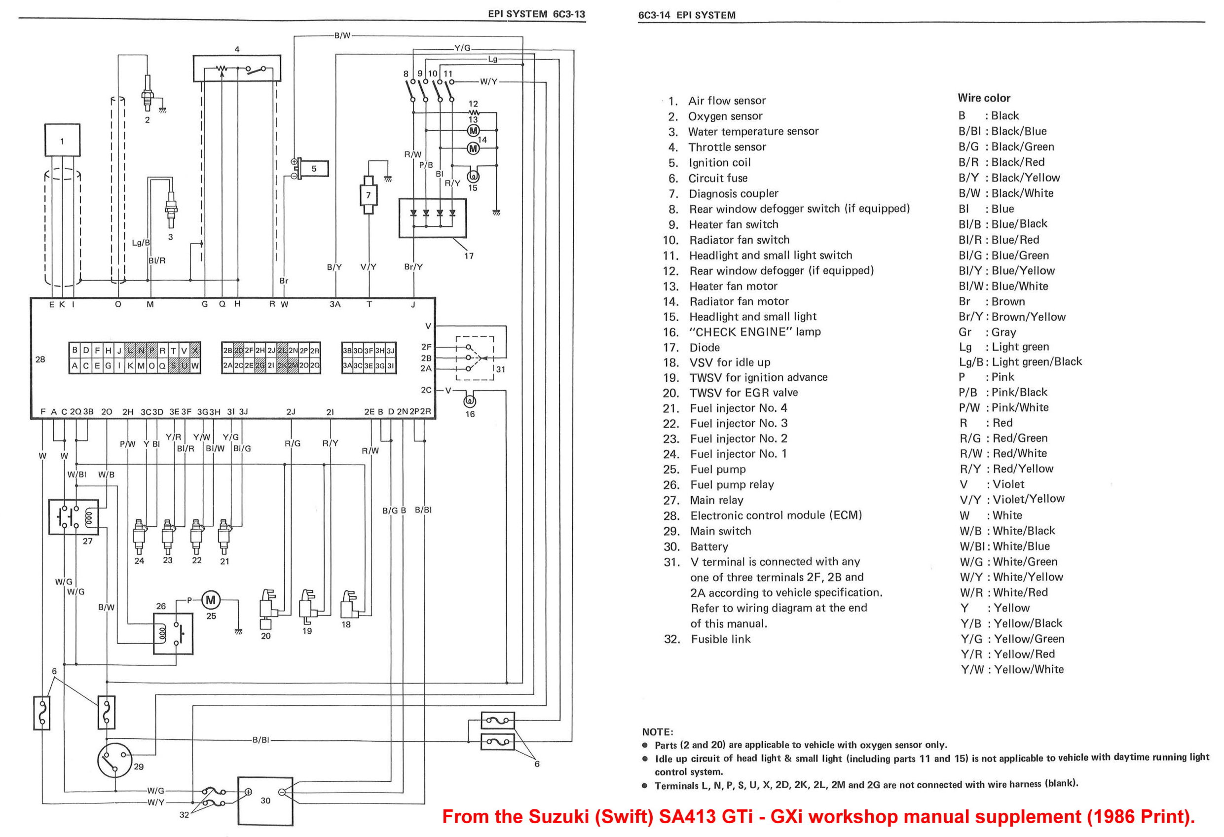 Wiring Diagram For Gti Swift