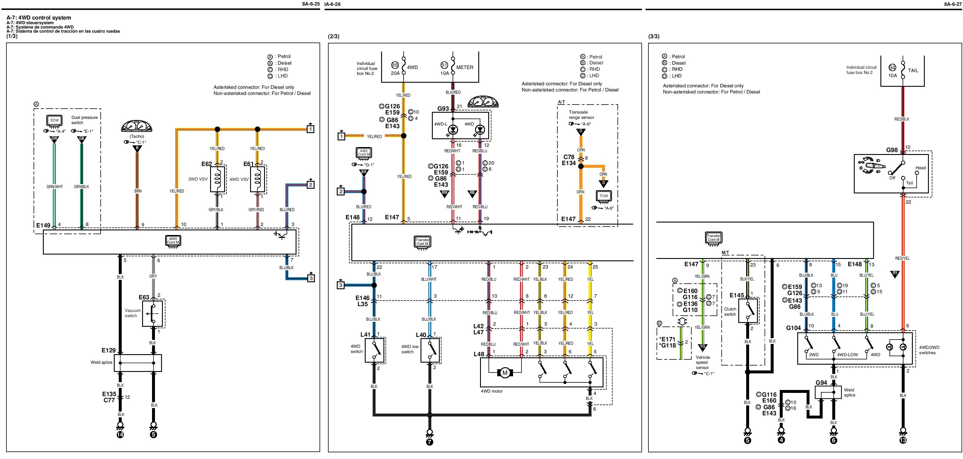 Electronic Transfer Case Problems Page 2 Suzuki Club Uk Grand Vitara Electrical Wiring Diagram Jimny Electric Box