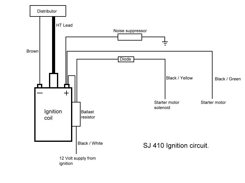 Does Anyone Have A Wiring Diagram For The Ignition Coil Suzuki Club Uk